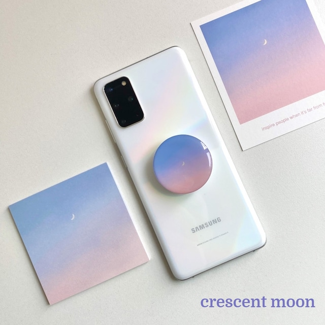 [skyfolio] 新色追加!! sky サークル スマホグリップ (全2色/ポストカード付き)
