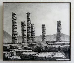 再入荷希望の方ご相談下さい。     中島 淳志「Temple of Apollon」