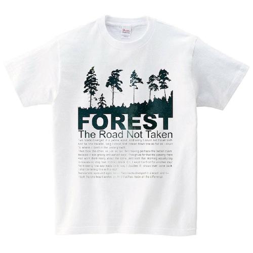森 Tシャツ メンズ レディース 半袖 宇宙 シンプル ゆったり おしゃれ トップス 白 30代 40代 ペアルック プレゼント 大きいサイズ 綿100% 160 S M L XL