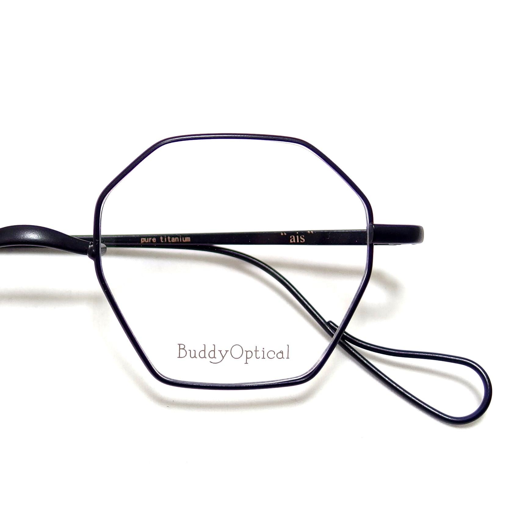 "【Buddy Optical】ais  ""matte black"""