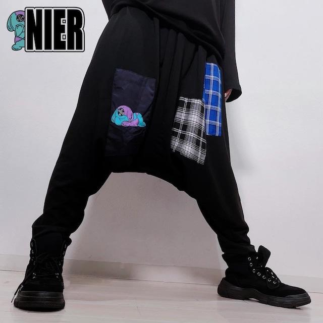 SARROUEL PANTS【ONE君patchwork】