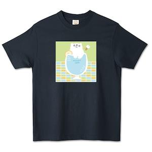 しろくまサイダー / オーガニックコットンTシャツ (TRUSS)