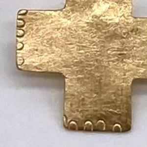 cross pin s / brass