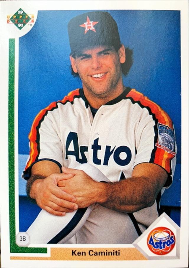 MLBカード 91UPPERDECK Ken Caminiti #180 ASTROS