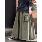 【sandglass】first pocket long skirt / 【サンドグラス】ファースト ポケット ロング スカート