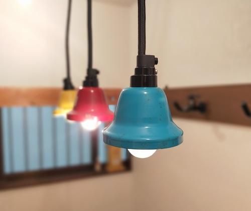 Pendant Light「Music Bell」Light Blue
