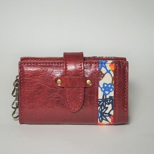 紅型キーケース BOX型【color】