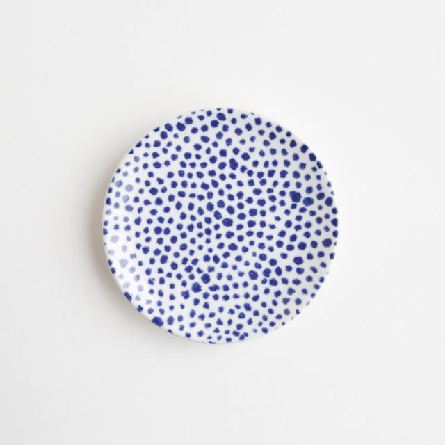 豆皿(瀬戸焼)/ ドット【Marianne Hallberg(マリアンヌ・ハルバーグ)】 北欧ブランド 日本製