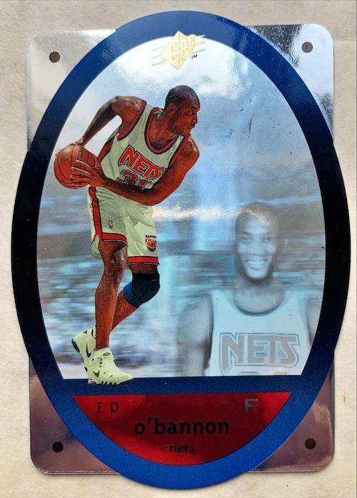 NBAカード 96UPPERDECK Ed O'bannon #32 NETS