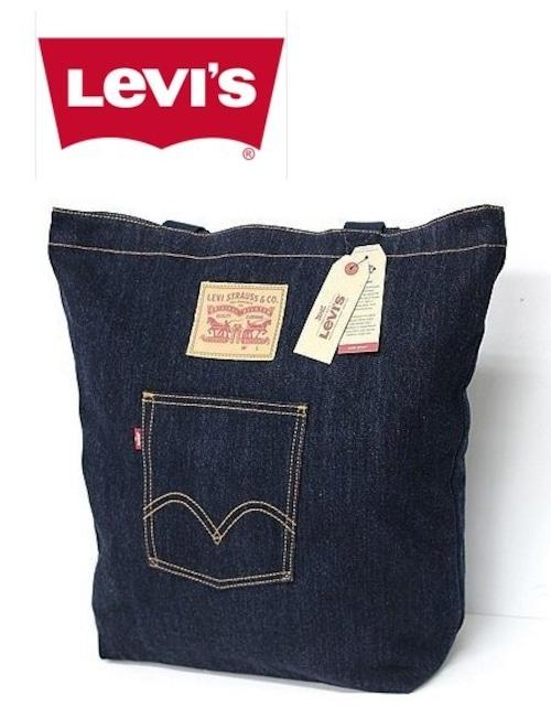 Levi's リーバイス デニムトートバッグ 紺 77170-0469