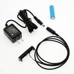 単3電池×2本(3V)用 ACアダプター接続ケーブル 1mセット品 [AABAT-2-R1M(E1)-SET]