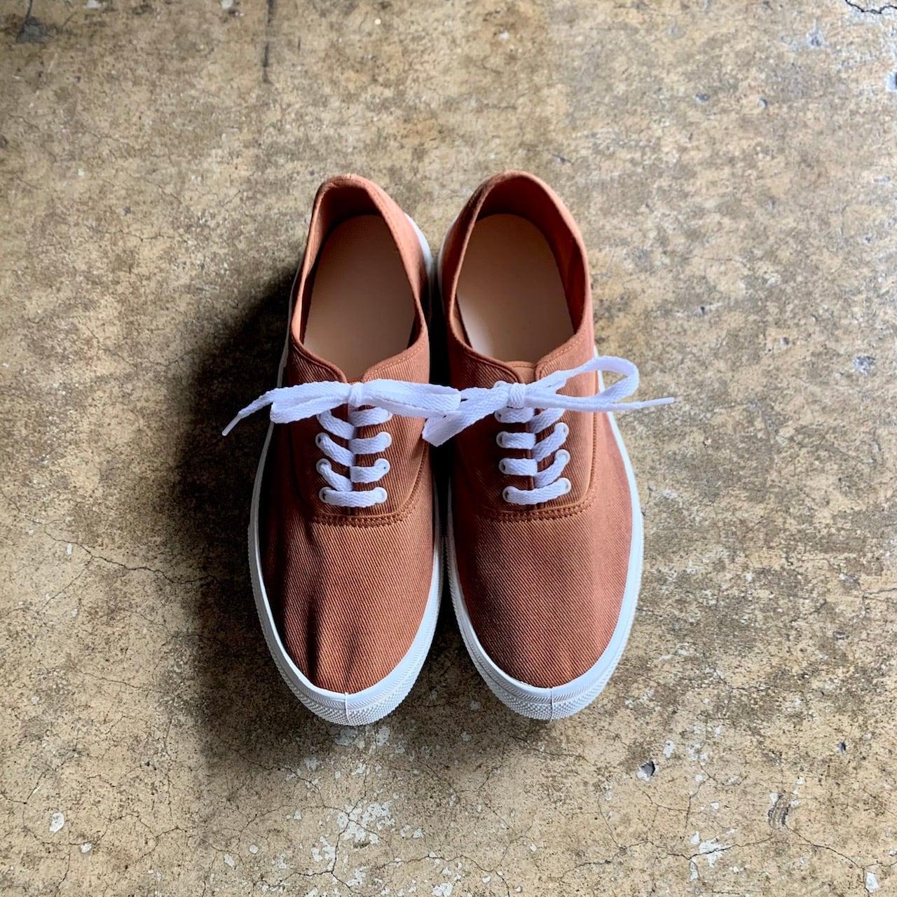 柿渋染 Original Deck Shoes