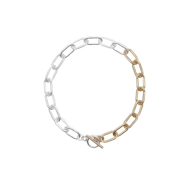 Ellipse Chain Bracelet