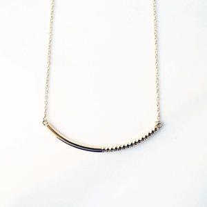 Rock Gold Necklace / M(N183-YG)