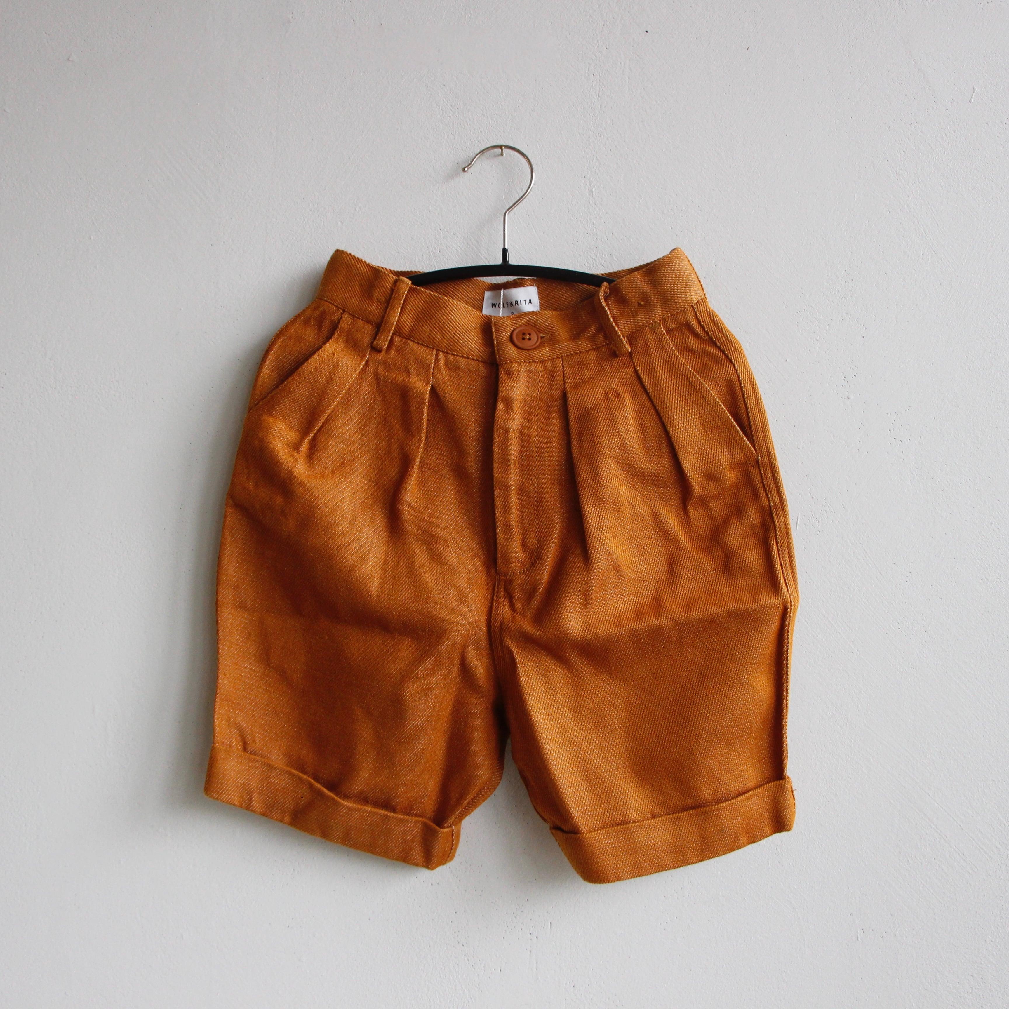《WOLF & RITA 2021SS》TADEU shorts /  OCRE