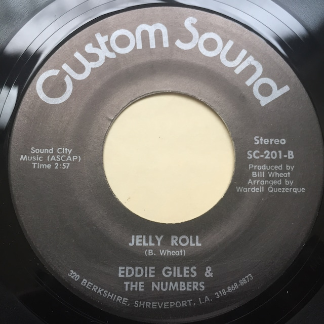 Eddie Giles & The Numbers – Sexy Lady