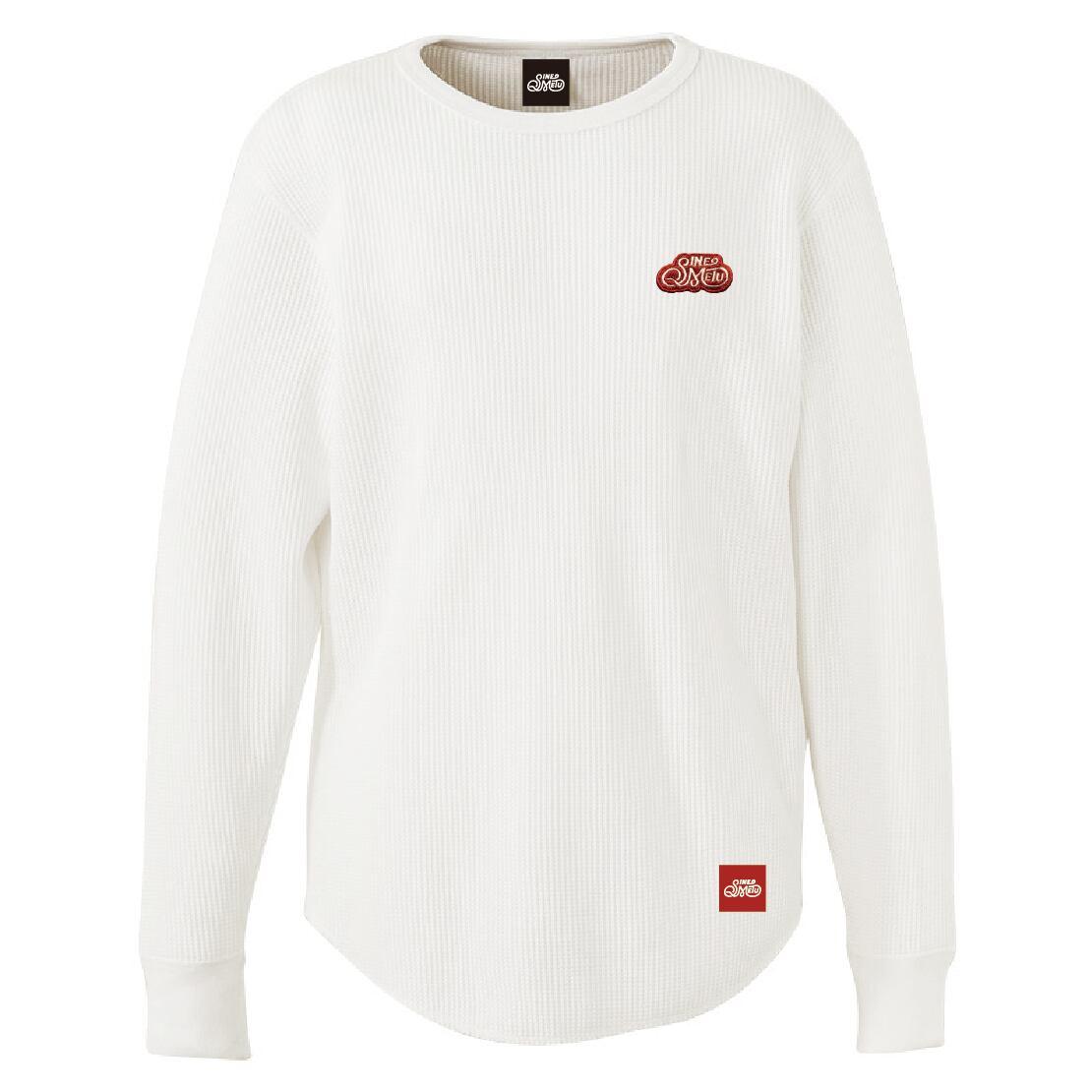 ロゴワッペン サーマルTシャツ 長袖 / ホワイト | SINE METU - シネメトゥ