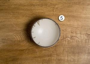 縁返し鉢 4寸(小鉢・煮物鉢・ボウル)/吉永哲子