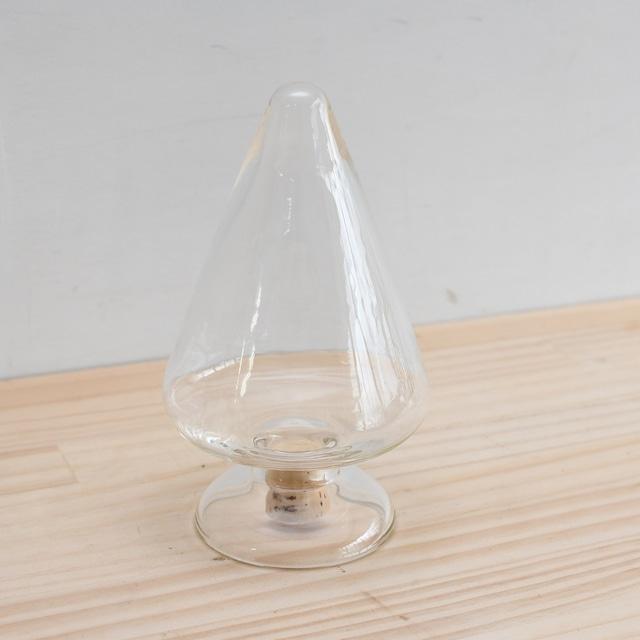 【小泉硝子製作所 理化学ガラス容器】イカ瓶L(300㏄)