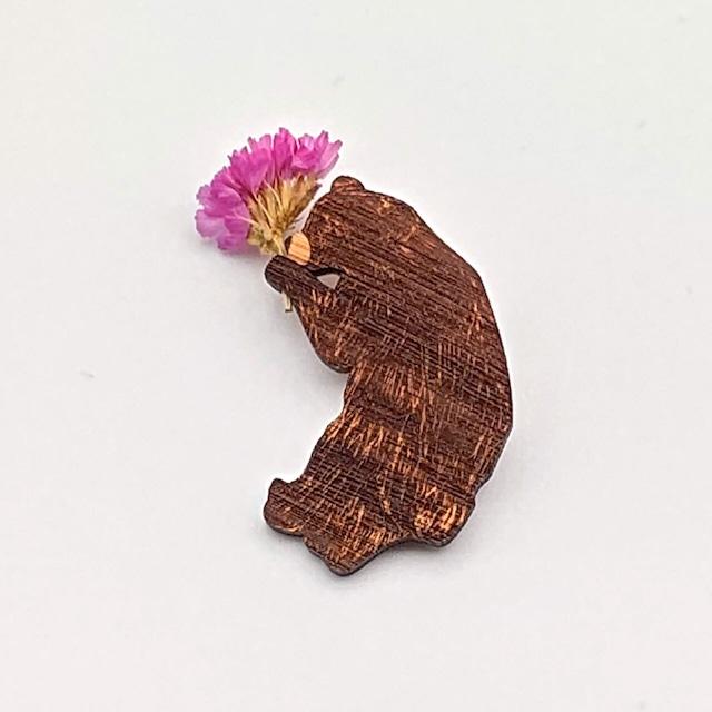 花摘みクマ