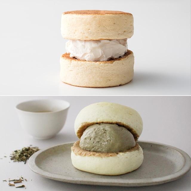 【10月24日(日)10:00販売開始】ふわふわ わぬき ミルククリーム5個とほうじ茶クリーム5個セット