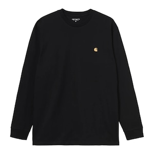 【Carhartt WIP】 L/S CHASE T-SHIRT - Black / Gold