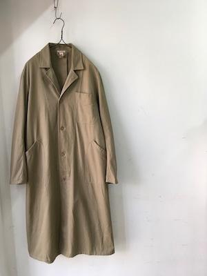 1940~50's Deadstock Belgian Beige Work Coat(1940~50年代頃ベルギー,ベージュのワークコート)
