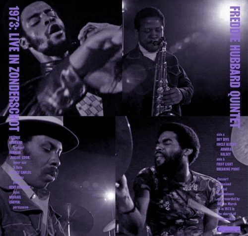 【LP】Freddie Hubbard - 1973: Live In Zonderschot