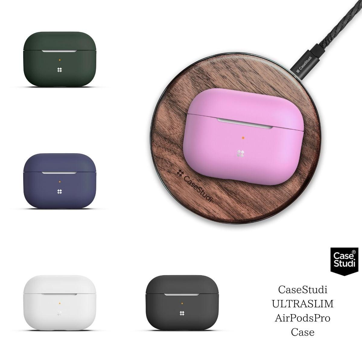 Apple AirPodsPro ケース シリコン エアーポッズプロ カバー  MWP22J/A  薄型 シンプル CaseStudi ケーススタディ ワイヤレスイヤホン