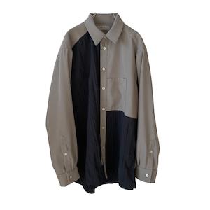 Slit Shirt grey 2 (inbi 20aw sample)