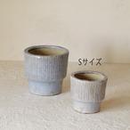 陶器<たて縞模様S>