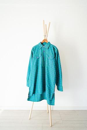 "【1960s】""HELLY HANSEN"" Euro Vintage Grandpa Shirts / v354"