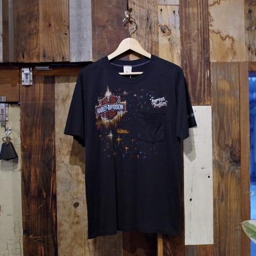 1980-90s Harley Davidson Pocket T-Shirt / ハーレー ポケット Tシャツ