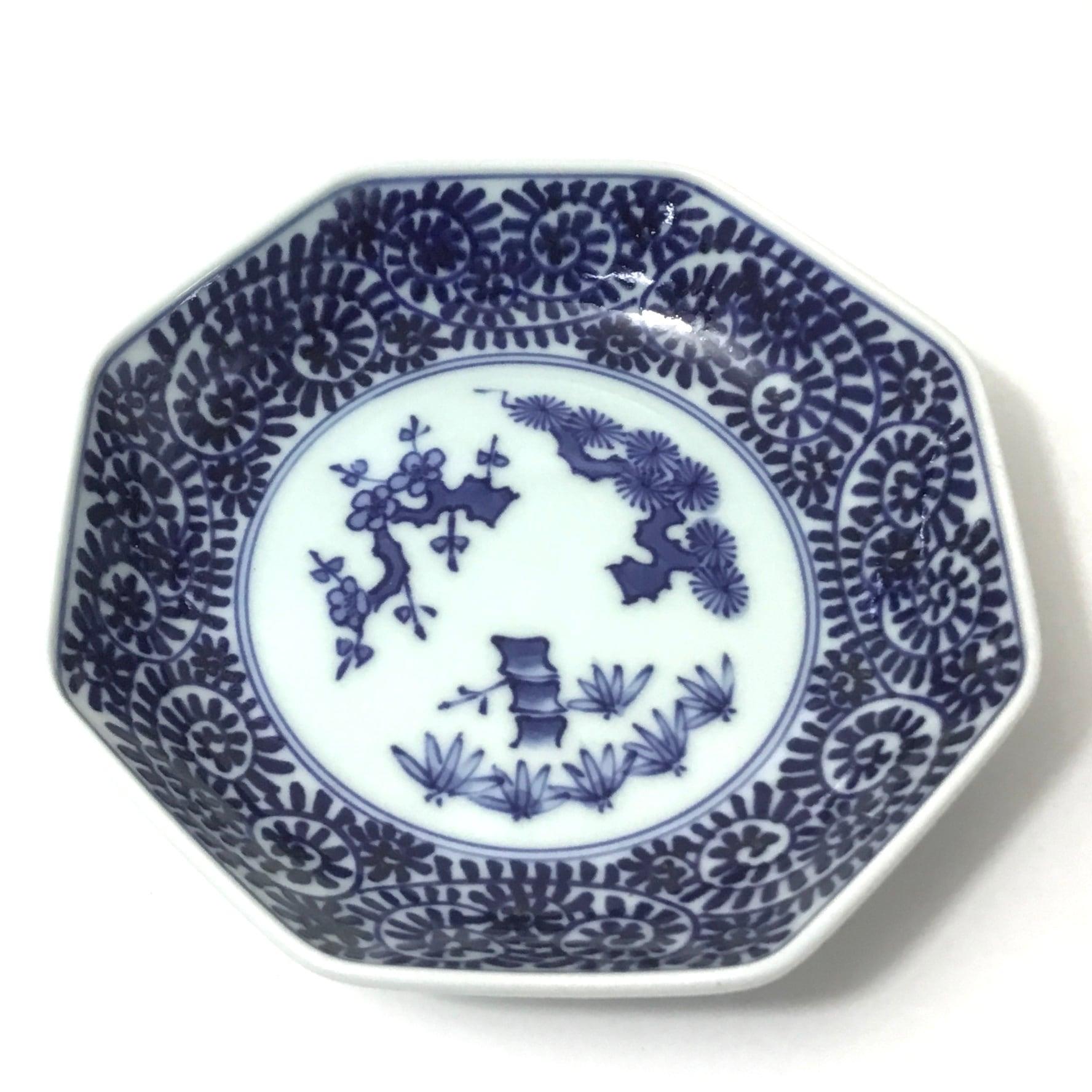 蛸唐草六寸皿