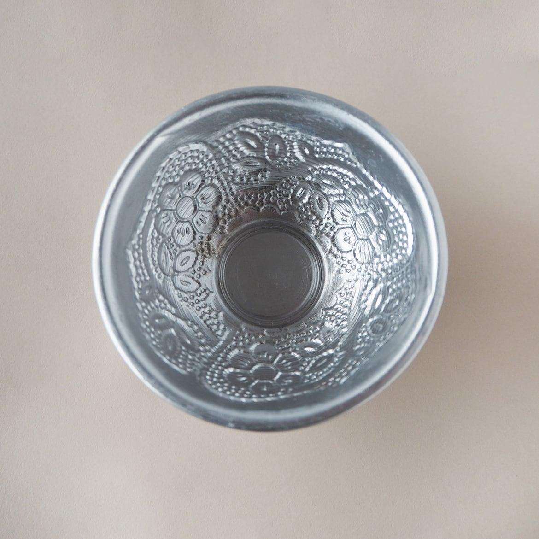 Silver Aluminum Small Bowl