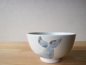 シロナガスクジラ ご飯茶碗 大(工房直売価格)