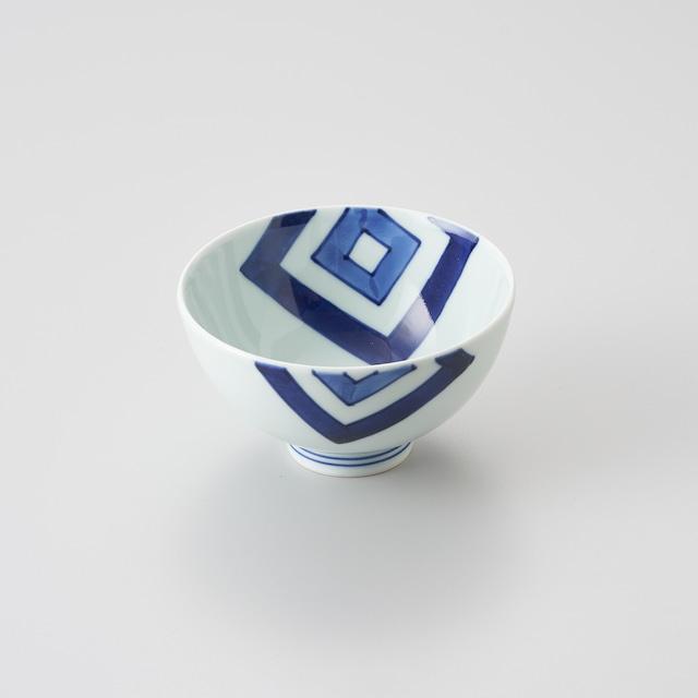 """【青花】""""Classic"""" 3.8寸丸飯碗(EDO)"""