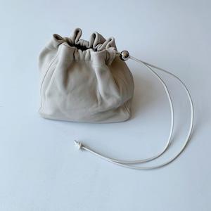 【_Fot】gather bag S_triangle /1102b