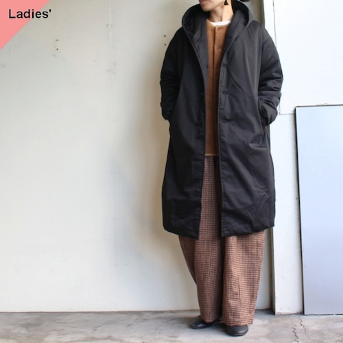THE LOFTLABO 【19-20秋冬】フードロングダウンコート WIIS ブラック TL15FJK04