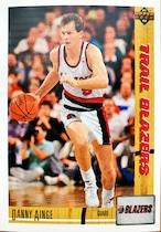 NBAカード 91-92UPPERDECK Danny Ainge #279 TRAILBLAZERS