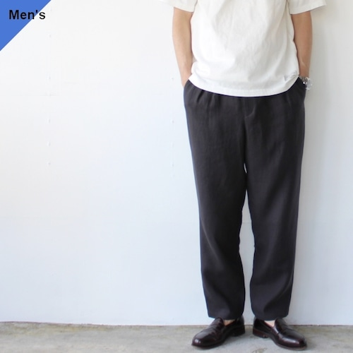 FANTASTICDAYS リネンイージーパンツ BREEZE-M-211-01 (Dark Gray)