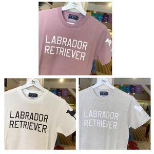 LABRADOR RETRIEVERロゴ Tシャツ