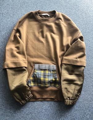 pullover with pocket / COINONIA【MU】