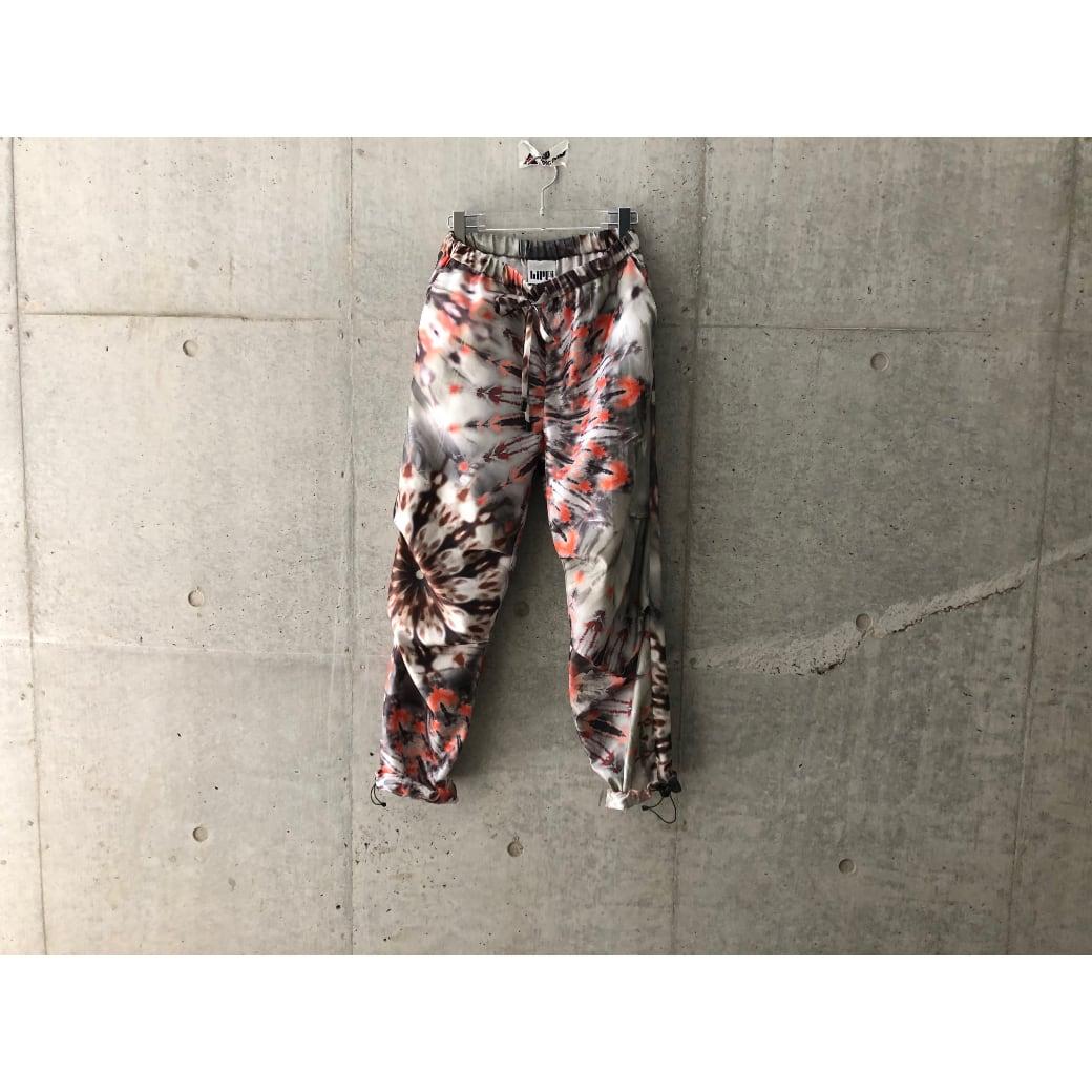 【hippiness】palette camouflage pants(Charcoal embers)/ 【ヒッピネス】パレットカモフラージュパンツ(チャコール エンバーズ)