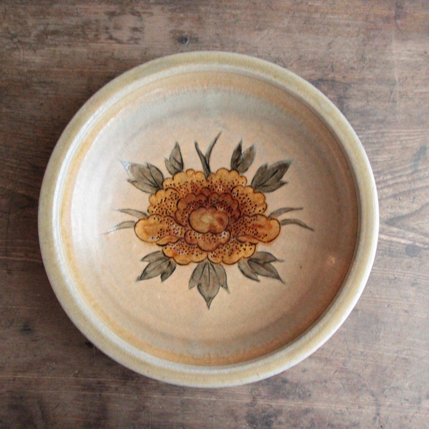 飴色菊のボウル皿 在庫1枚