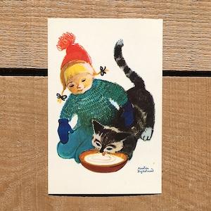 クリスマスカード「Kerstin Frykstrand(シェスティン・フリュークストランド)」《210213-01》