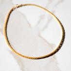 上品シンプルなゴールドのヴィンテージネックレス