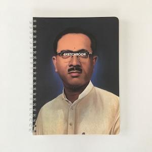 スケッチブック A4 ホワイトシャツ|Sketchbook A4 White Shirt(PUEBCO)