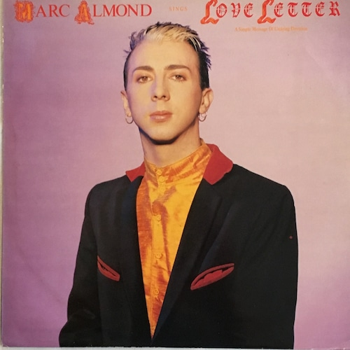 【12inch・英盤】Marc Almond  / Love Letter
