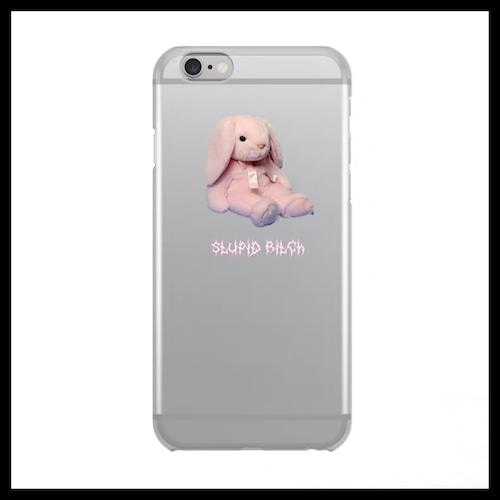【お取り寄せ】ゆめかわ ピンクラビット iPhoneケース